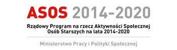 ASOS - Rządowy Program na rzecz Aktywności Społecznej Osób Starszych 2014-2020